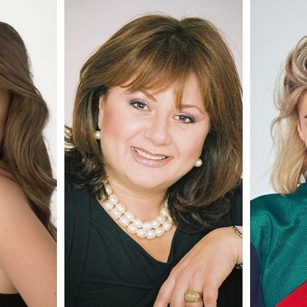 מריה דומרק, חנה לסלאו ואנה זק   צילום: ליאור קסון, רונן אקרמן ואלעד אדמוני