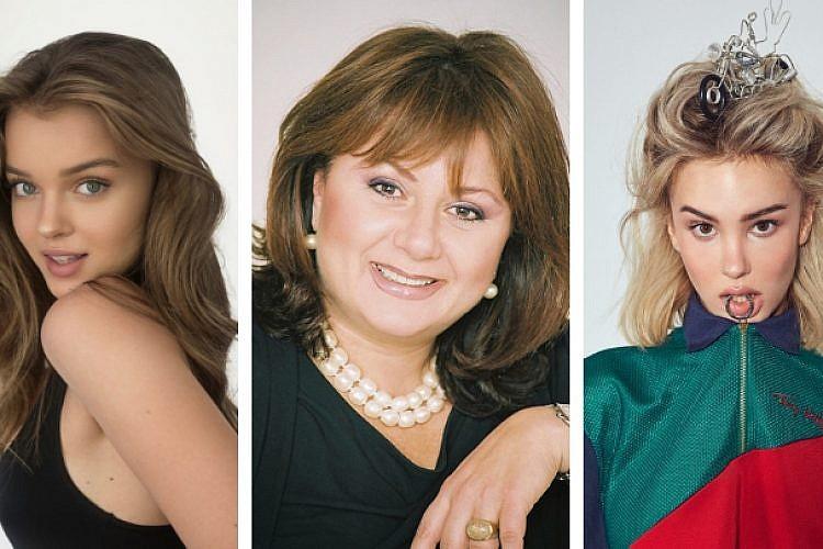 מריה דומרק, חנה לסלאו ואנה זק | צילום: ליאור קסון, רונן אקרמן ואלעד אדמוני