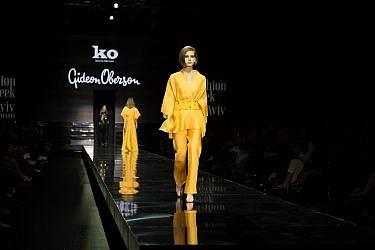 התצוגה של גדעון אוברזון בשבוע האופנה תל אביב | צילום: דור ערבה