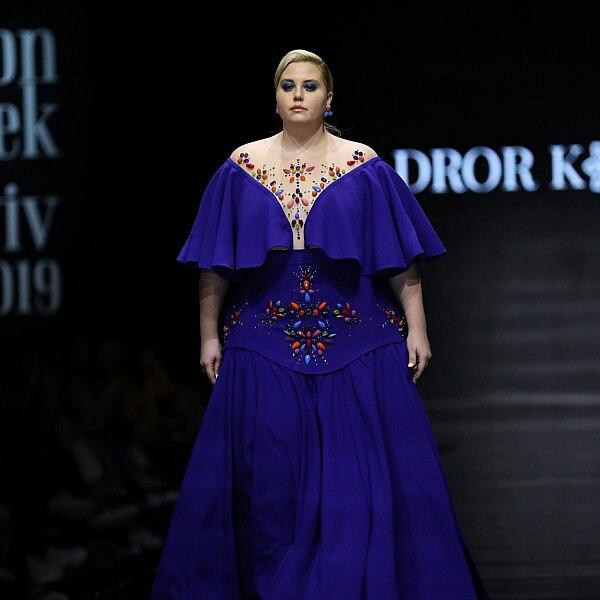 דרור קונטנטו מתוך שבוע האופנה תל אביב 2019. צילום אדריאן סבל