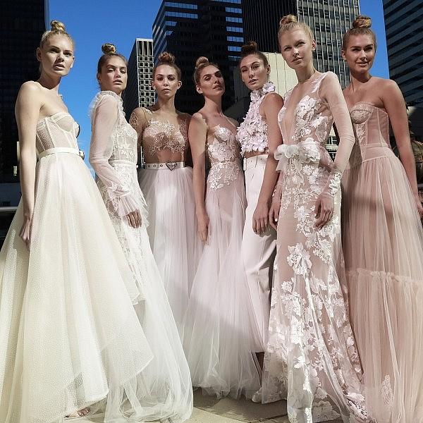 תצוגת האופנה של אייזן שטיין בשבוע האופנה לכלות בניו יורק | צילום: Dan Leeca