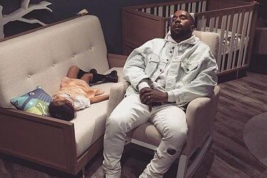 קניה ונורת' ווסט   צילום מסך מהאינסטגרם של kimkardashian