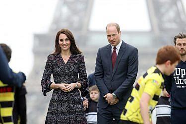 הנסיך וויליאם וקייט מידלטון | צילום: Chris Jackson/Getty Images