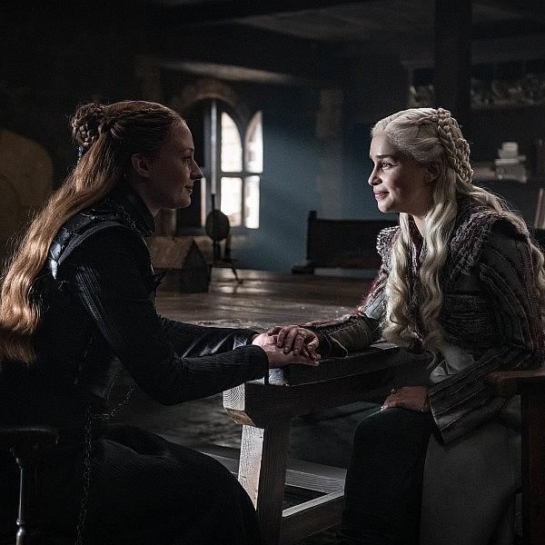 סאנסה ודאינריז שמות את הדברים על השולחן. פרק 2 בעונה השמינית והאחרונה של