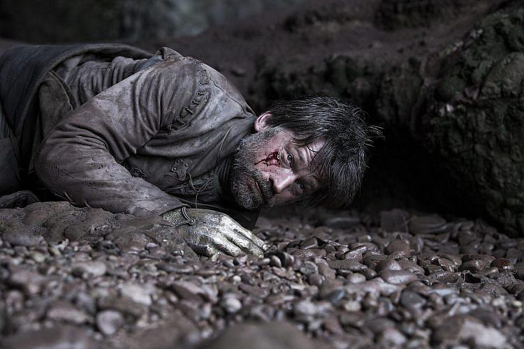 לא היה עדיף להישאר עם בריאן בווינטרפל? ג'יימי מקיז דם   צילום: Helen Sloan/HBO