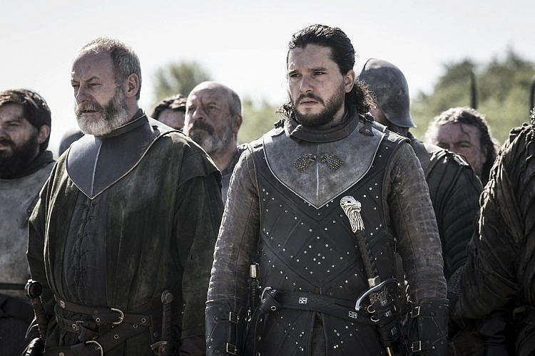 פרצופו של רכלן. ג'ון סנואו עומד להתמודד עם ההשלכות   צילום: Helen Sloan/HBO