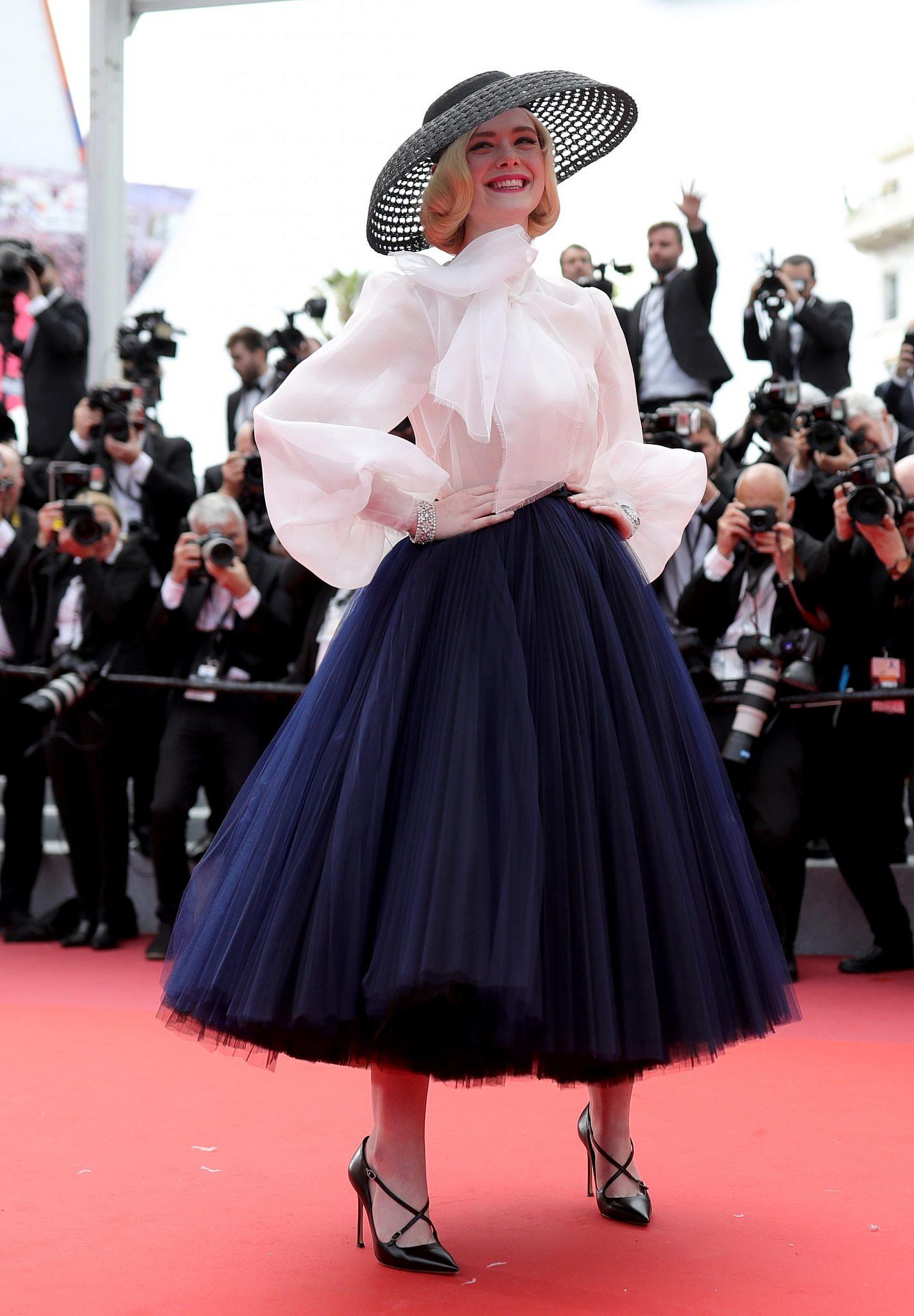 אל פנינג לובשת דיור, 2019 | צילום: Andreas Rentz/Getty Images