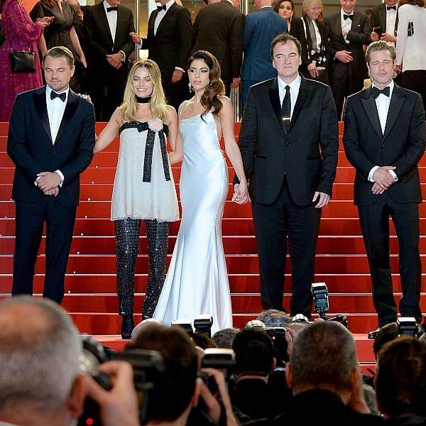 בראד פיט, טרנטינו, דניאלה פיק, מרגו רובי ולאונרדו דיקפריו  | צילום: Eamonn M. McCormack/Getty Images