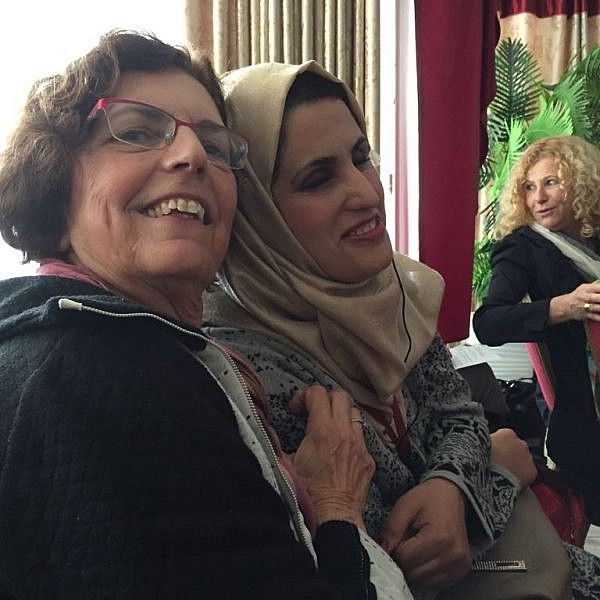 אחלאס אשתייה ומירי בן רפאל | צילום באדיבות מירי בן רפאל