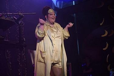 נטע ברזילי משיקה את הסינגל החדש Nana Banana בזאפה תל אביב | צילום: ערן לוי