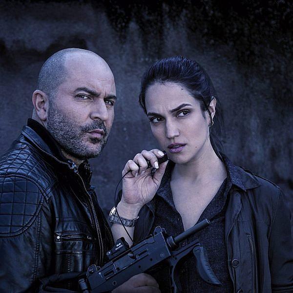 מארינה מקסימיליאן וליאור רז. מתוך העונה השלישית של 'פאודה' | צילום: נטי לוי