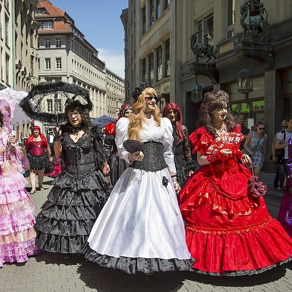 פסטיבל wave gothic treffen | צילום: גוסטבו הוכמן
