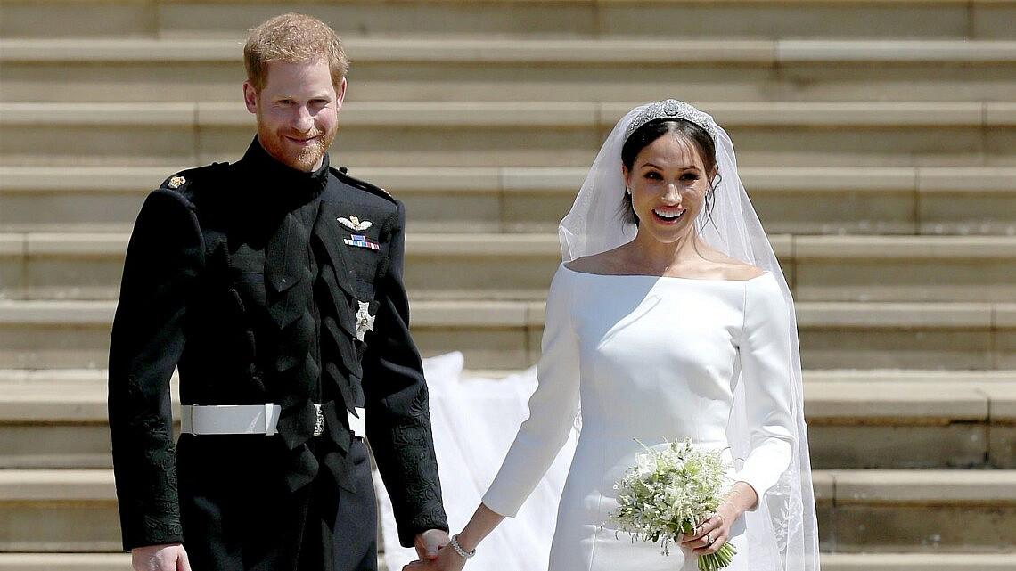 מייגן מרקל והנסיך הארי | צילום: WPA Pool/GettyImages