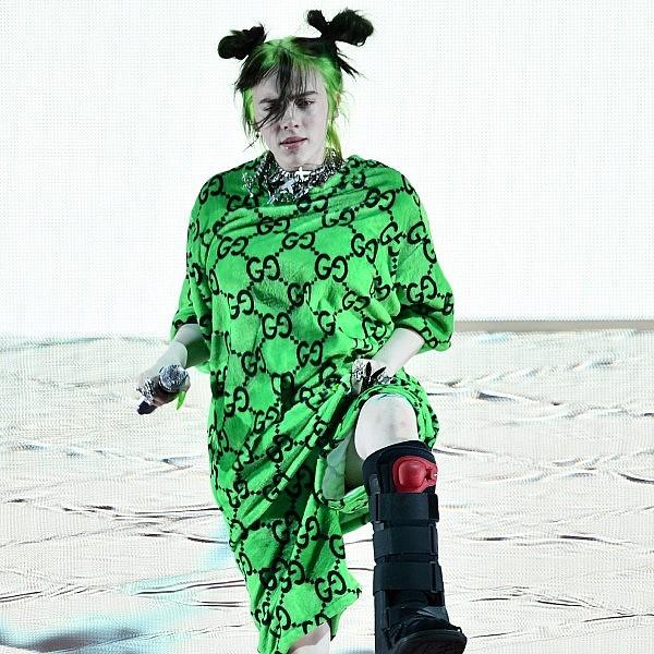 בילי אייליש. נערת ויסקו מצטיינת | צילום:  Scott Dudelson/Getty Images