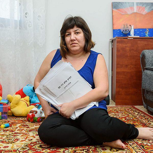 אולגה זדורוב   צילום: אייל מרגולין-ג'יני