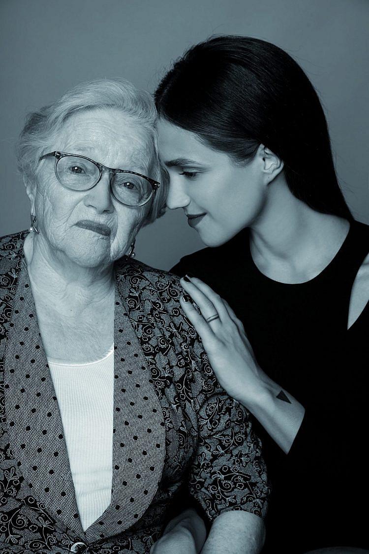 מרינה מקסימיליאן וסופיה מיז'ריצ'ר | צילום: רון קדמי