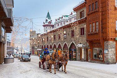 סנט מוריץ, שווייץ   צילום: Shutterstock