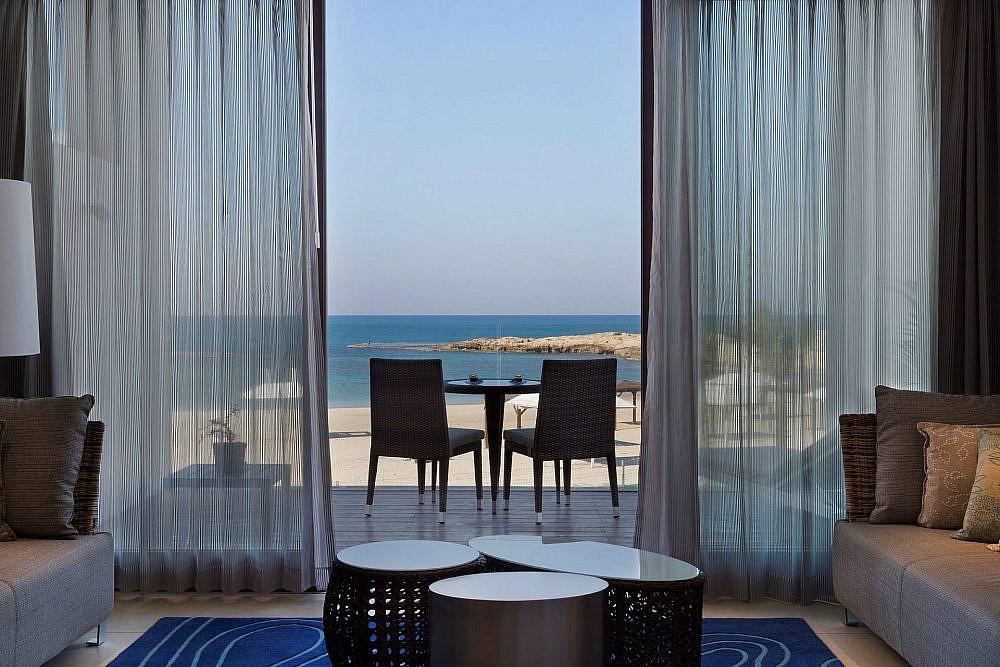 נוף מהחדר מלון נחשולים   צילום: אלון פינצ'וק