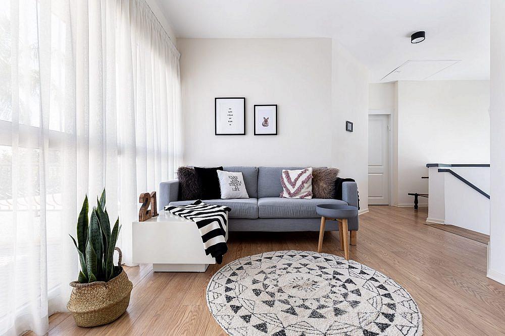 שטיח זה מאסט וכריות זה שדרוג | עיצוב: נורית מור יוסף, צילום: אורית ארנון