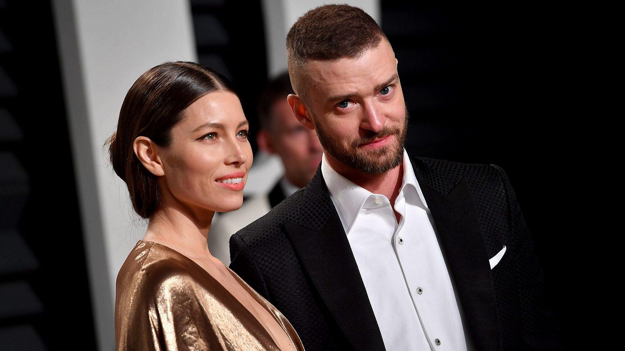 ג'סטין טימברלייק וג'סיקה בייל   צילום: Pascal Le Segretain/Getty Images