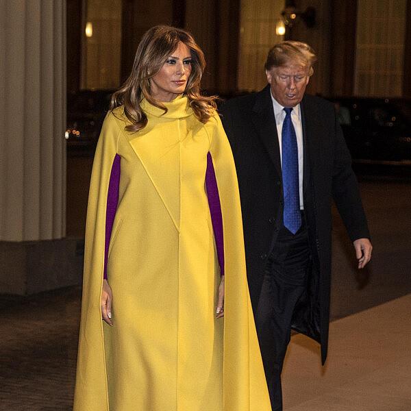 מלניה טראמפ   צילום richard phole gettyimages