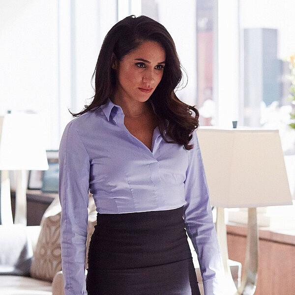 איך להתלבש לעבודה? מייגן מרקל מדגימה   צילום מסך מתוך הסדרה Suits