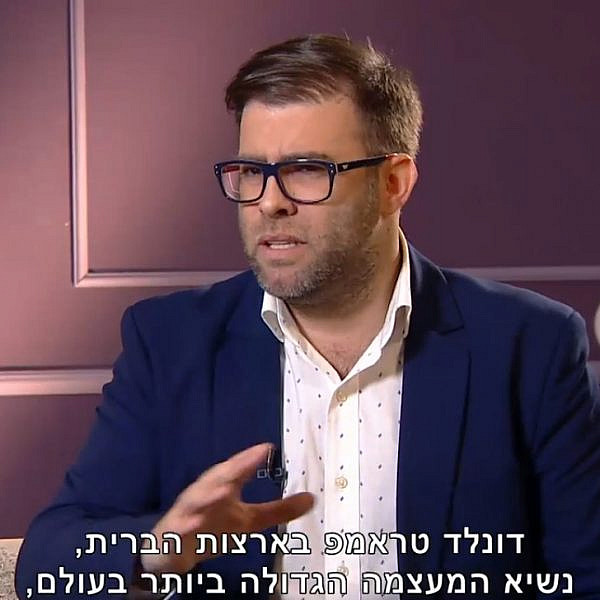 אורן חזן מדבר על אביו הרוחני   צילום מסך מתוך רשת 13