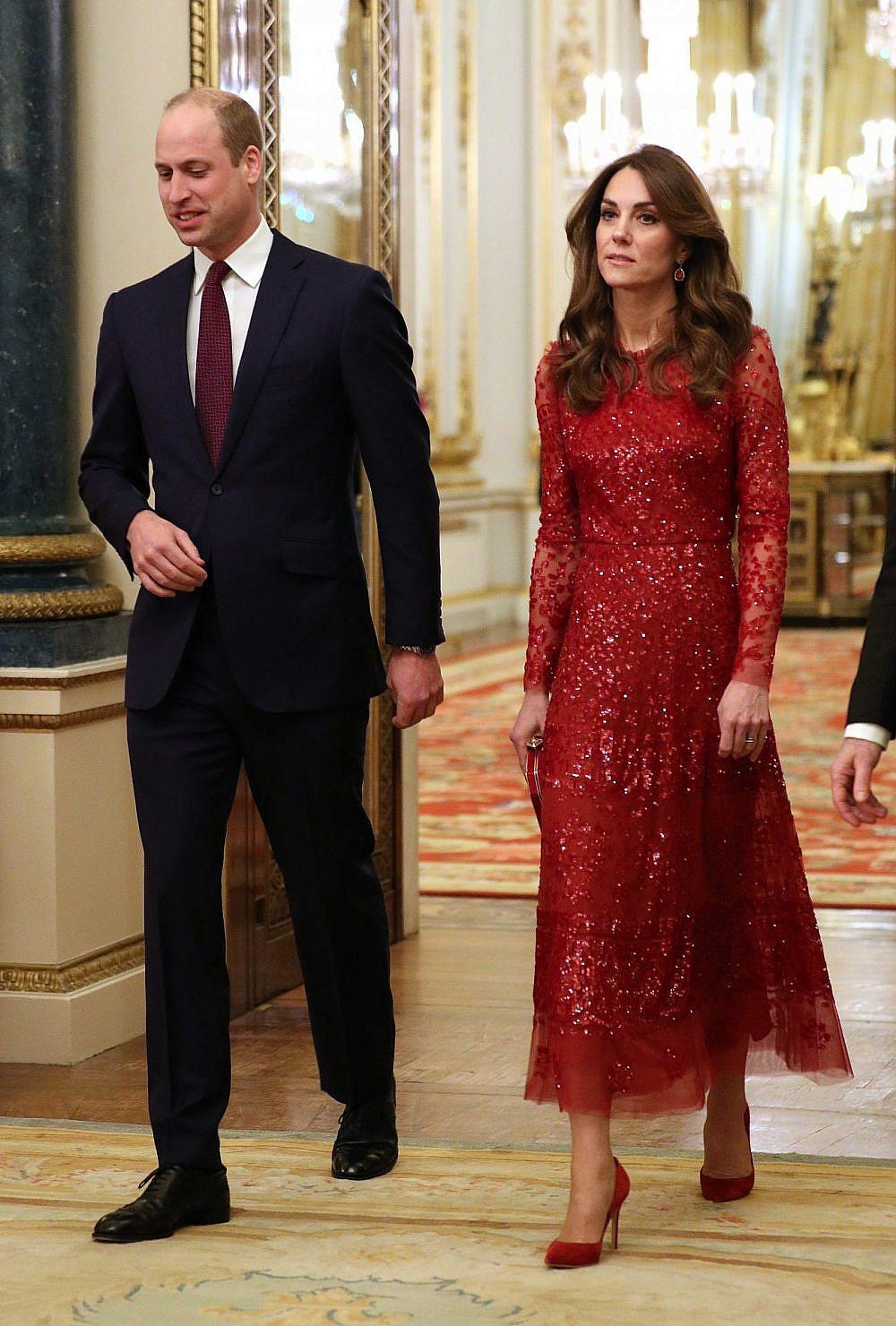 קייט מידלטון והנסיך וויליאם | צילום: Yui Mok – WPA Pool/Getty Images