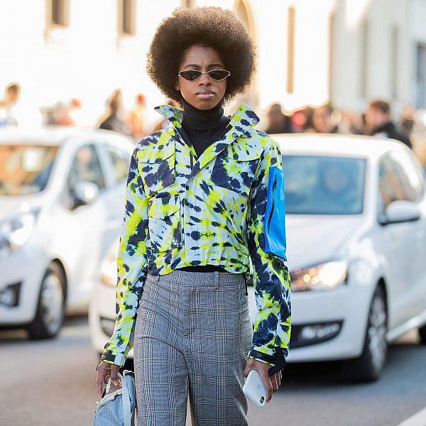 סטריט סטייל בשבוע האופנה במילאנו | צילום: Christian Vierig/Getty Images
