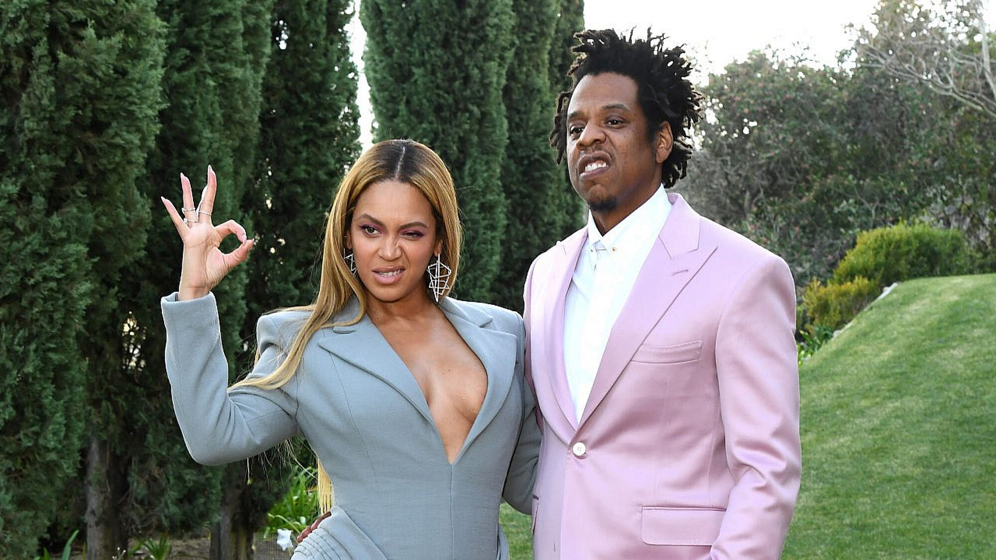 ביונסה וג'יי זי | צילום: Kevin Mazur/Getty Images for Roc Nation