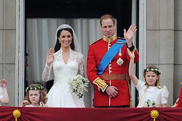קייט מידלטון והנסיך וויליאם | צילום: Stephane Cardinale/Corbis via Getty Images