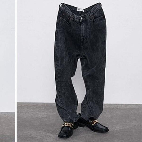 ג'ינס של זארה | צילום מסך מהאתר של זארה