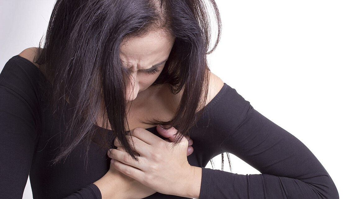מחלות לב אצל נשים | צילום: shutterstock