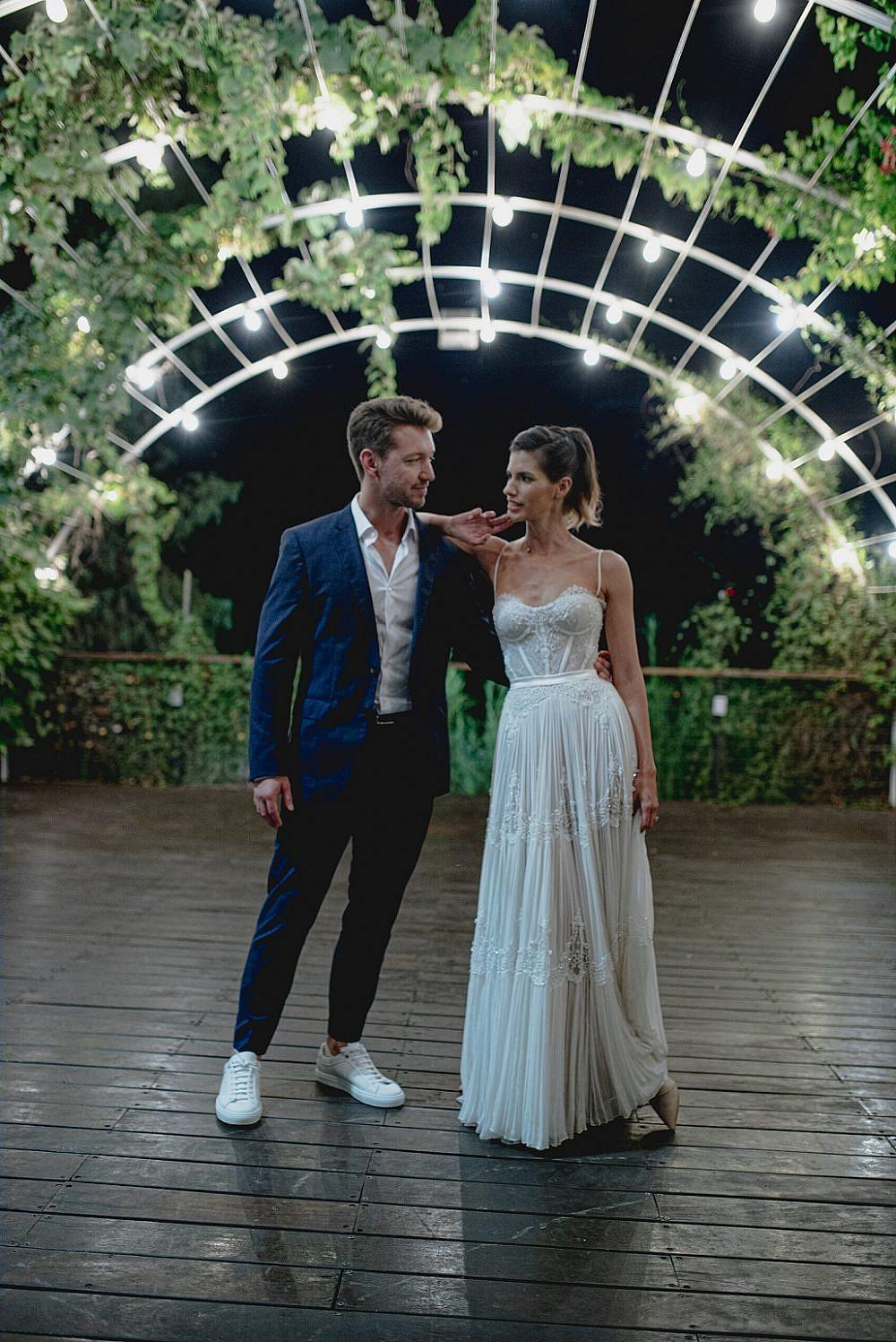 החתונה של דניס והדר | צילום: קובי מהגר