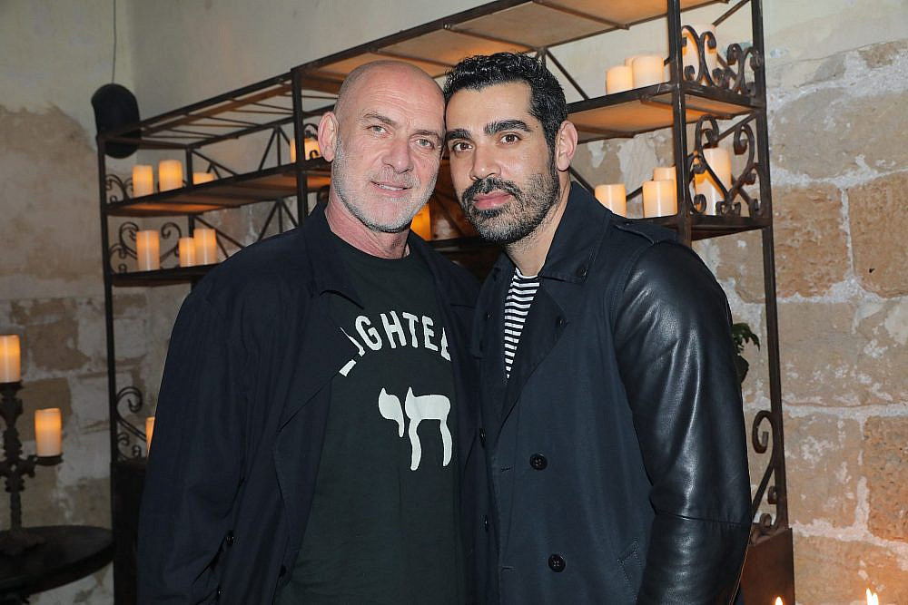 מוטי רייף וסימור לוזון בתצוגת האופנה של ויוי בלאיש | צילום: רפי דלויה