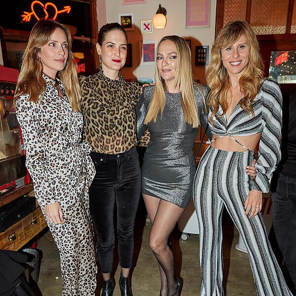 מימין: אלינה לוי, קרן ברטוב, סיון קליין ומלי לוי בהשקת התוכנית