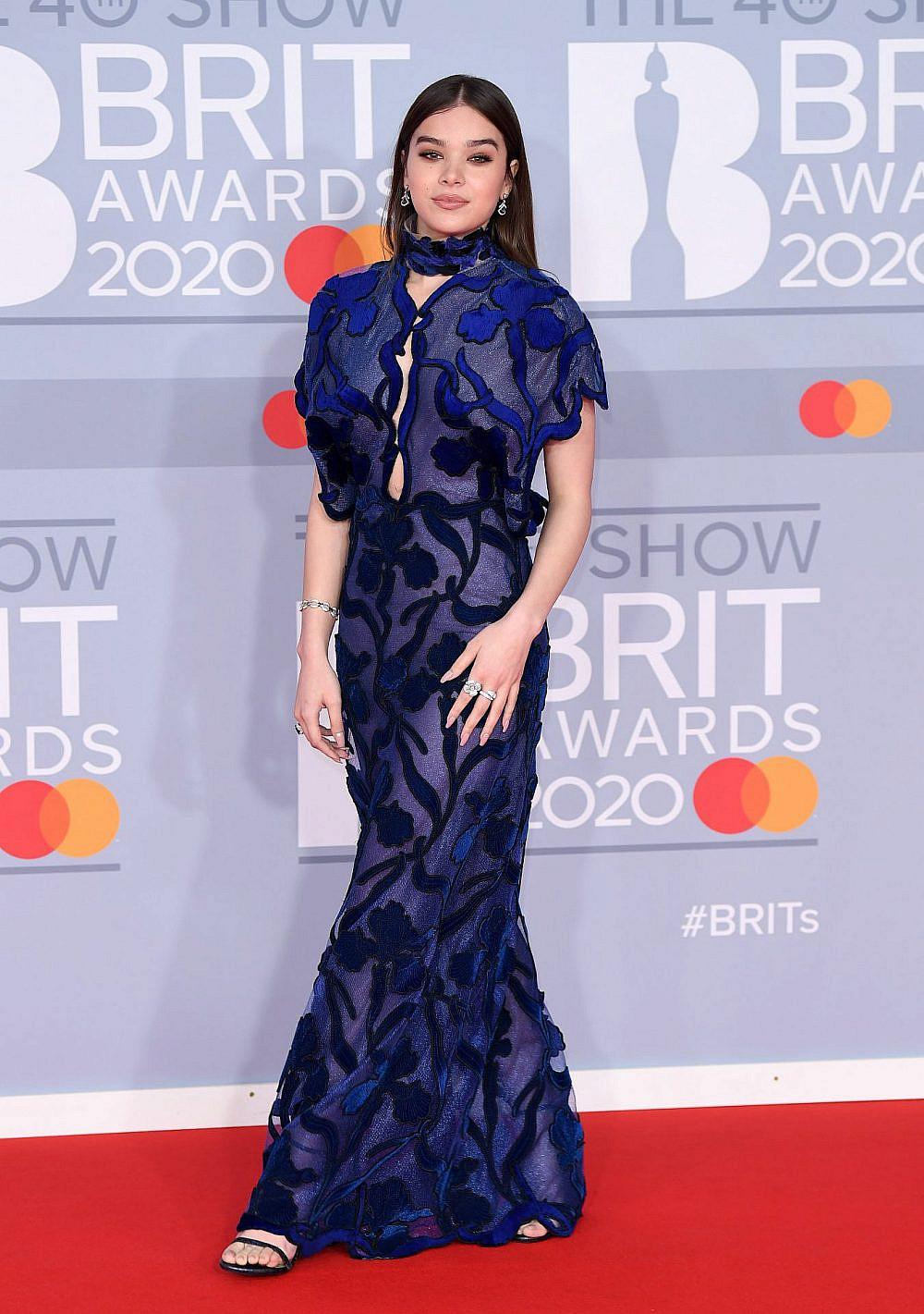 היילי סטיינפלד בטקס פרסי הבריטס | צילום: Karwai Tang/WireImage