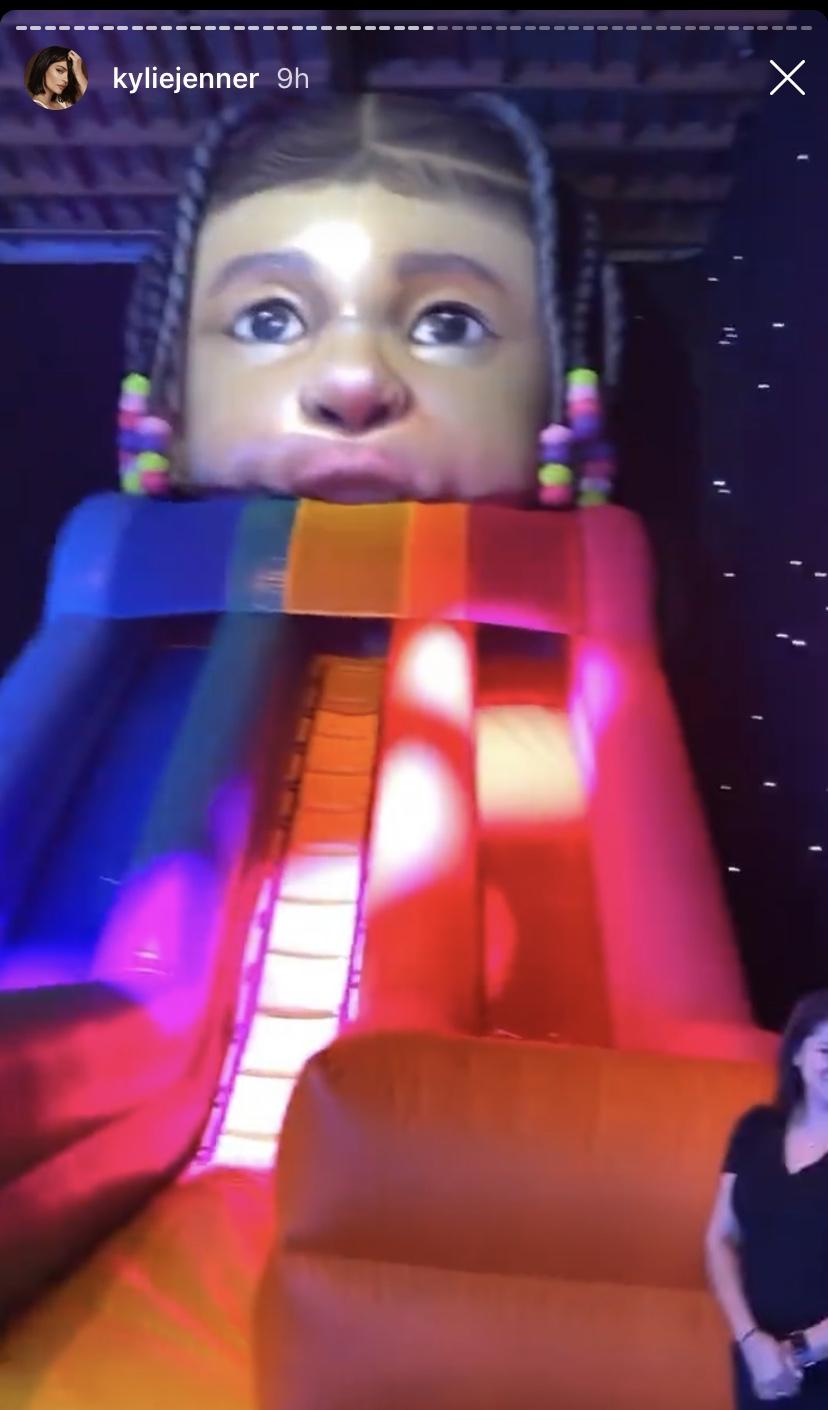 יום ההולדת של סטורמי, בתה של קיילי ג'נר | צילום מסך מאינסטגרם