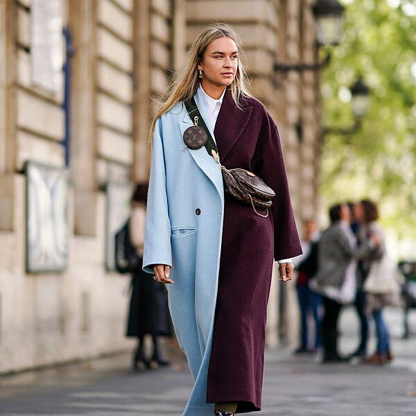 סטריט סטייל מתוך שבוע האופנה בפריז | צילום edward berthelot gettyimages