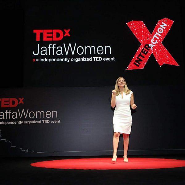 דליה פלדהיים בכנס TEDx | צילום: מיה כרמי-דרור