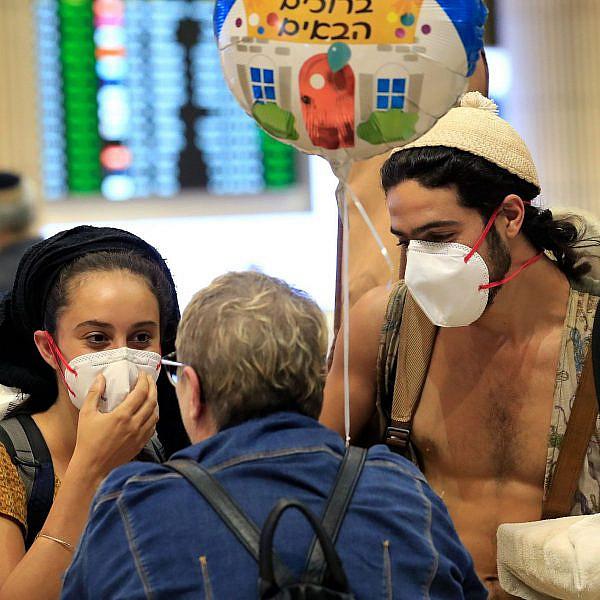 הקורונה מבהילה גם בישראל | צילום: EMMANUEL DUNAND,gettyimages