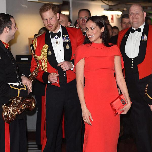 מייגן מרקל והנסיך הארי | צילום: Eddie Mulholland-WPA Pool/Getty Images