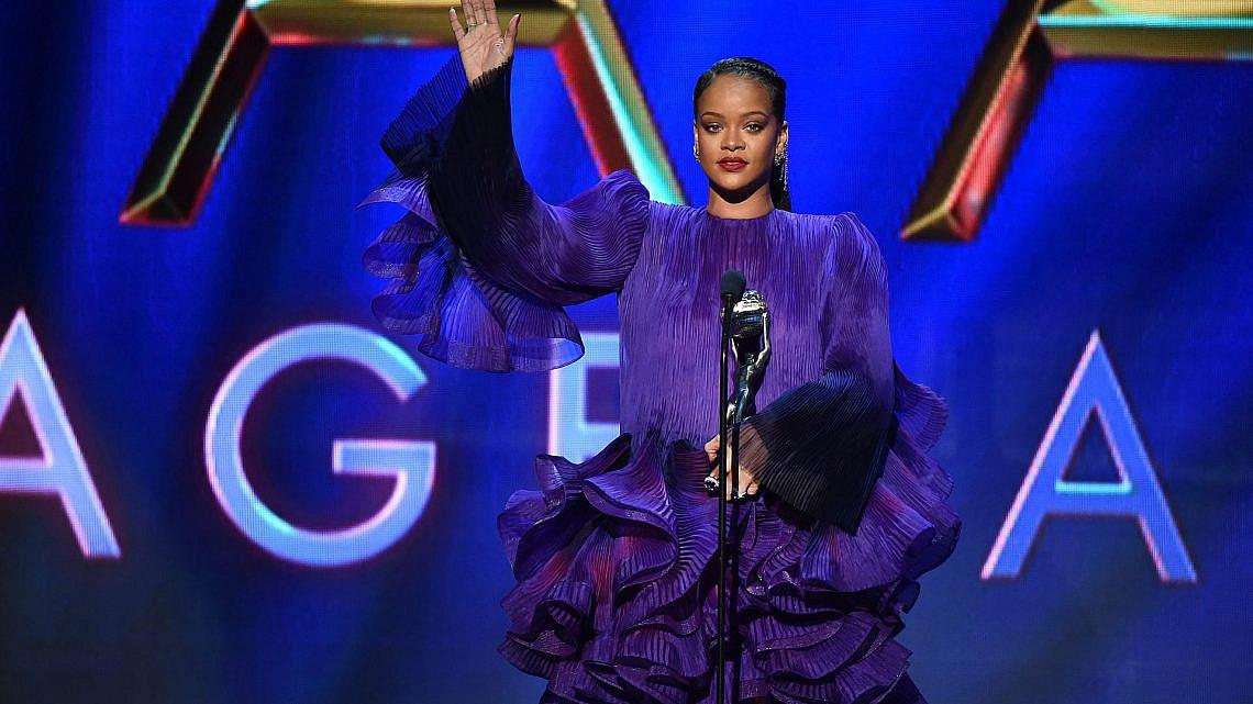 ריהאנה   צילום: Aaron J. Thornton/Getty Images