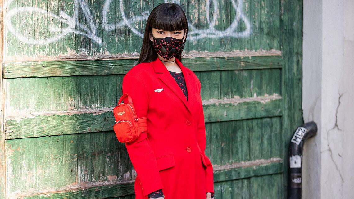 קוז'ו אקימוטו בשבוע האופנה בפריז | צילום: Christian Vierig/Getty Images