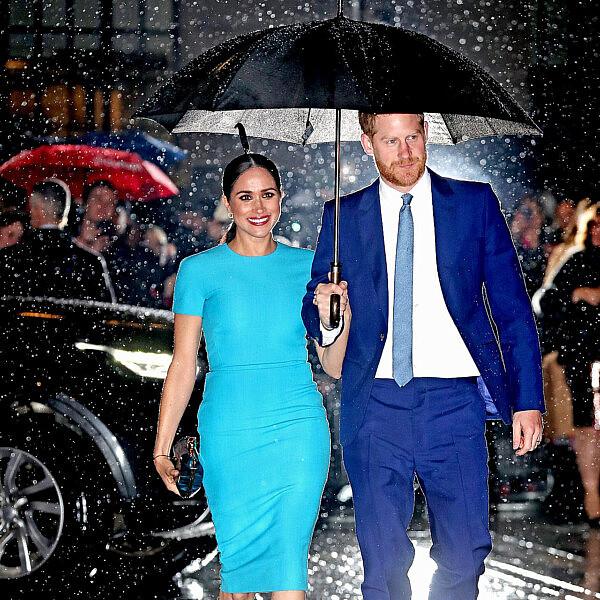 מייגן מרקל והנסיך הארי   צילום:  Chris Jackson/Getty Images