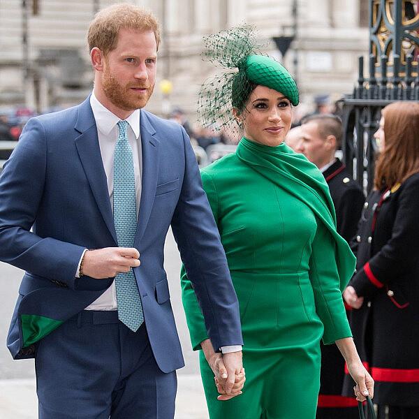 מייגן מרקל והנסיך הארי | צילום samir hussien gettyimages
