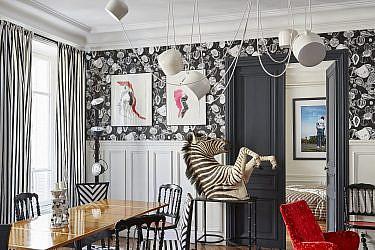 דירה בפריז | צילום: Francis Amiand and Neil Bicknell, עיצוב: Sacha Walckhoff