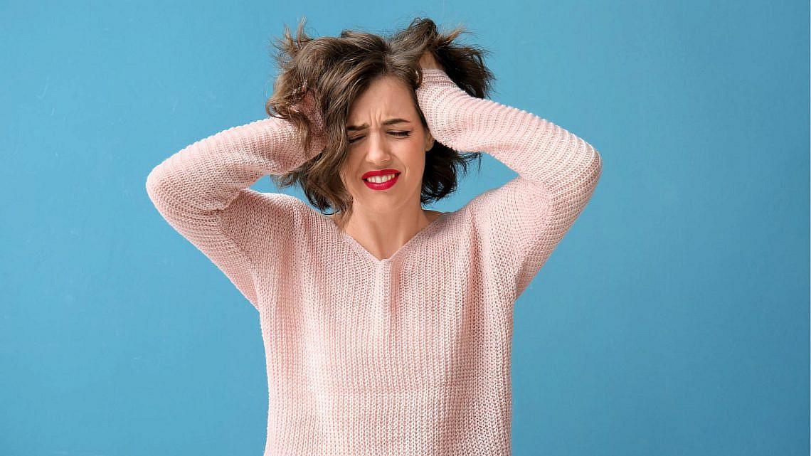 סטרס. משפיע על העור, השיער והציפורניים | צילום: Shutterstock