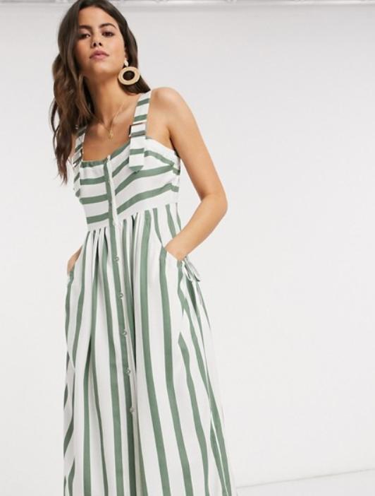 """שמלת מקסי של אסוס, מחיר 141 ש""""ח   צילום מסך מאסוס"""