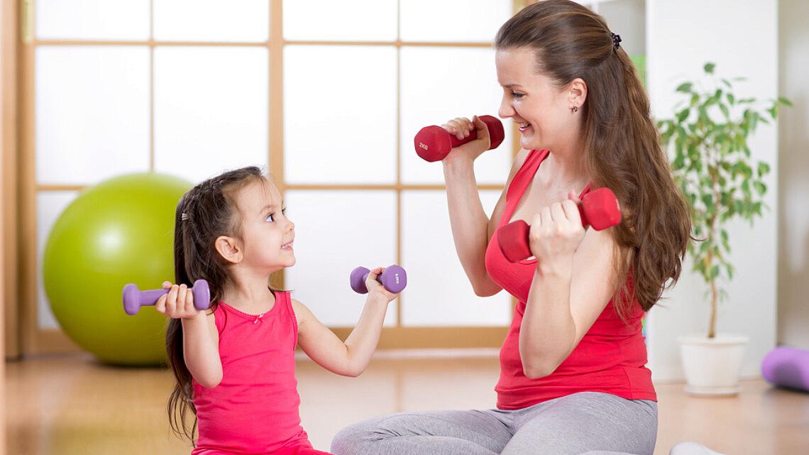 אימון עם הילדים | צילום: shutterstock